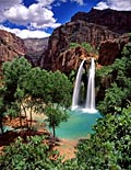 Waterfalls - photo gallery, Havasu Falls