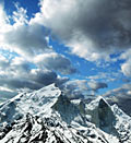 Himalayan mountains - Bhagirathi Parbat peak