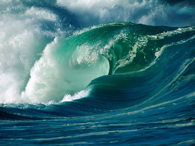 Ocean waves - nature photography